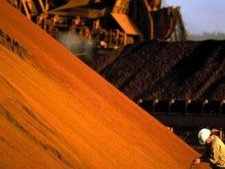 Minério de ferro na China: contratos futuros sobem quase 10% | AFP