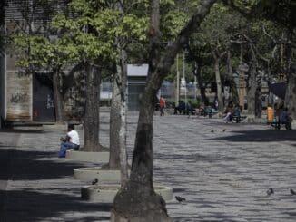 Região da Cinelândia sofre com a pandemia | Márcia Foletto