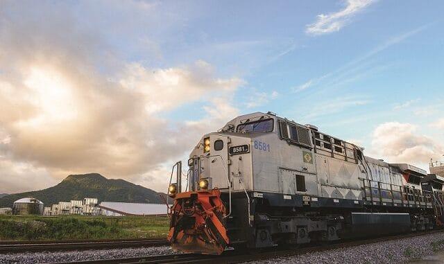 A VLI assinou contrato com a LD Celulose que prevê aquisição de material rodante, além da construção de pátios e uma pera ferroviária. Foto: Divulgação/VLI