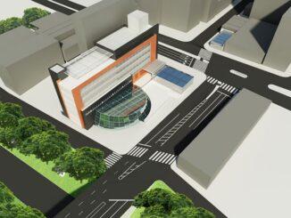 Projeção da futura estação São Joaquim da Linha 6 (Tetra)