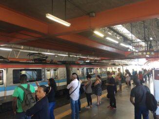 Estação Acesso Norte do metrô, em Salvador — Foto: Phael Fernandes/ G1