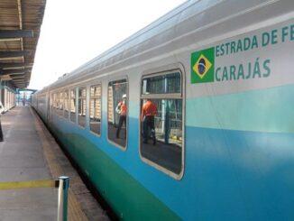Trem de Passageiros da Vale — Foto: Divulgação/Vale