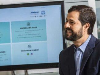 O prefeito de Jundiaí, Luiz Fernando Machado, participa do lançamento on-line hoje Crédito: ALEXANDRE MARTINS