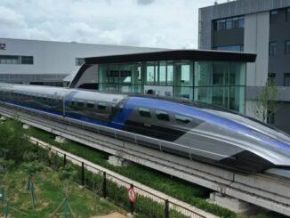 Novo trem-bala chinês chega a 600 km/h Imagem: Zhang Jingang/VCG/Getty Images