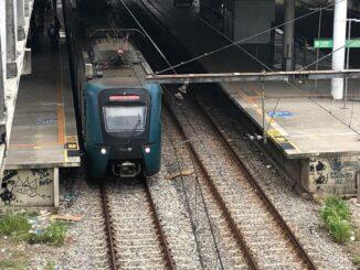 Passagem dos trens da Supervia passariam de R$ 5 para R$ 5,90 nesta quinta (1º) — Foto: Cristina Boeckel/ G1
