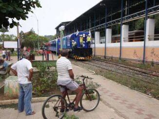 Viagem teste entre Recreio e Cartaguases, percurso de 60 quilômetros na Zona da Mata, em 2018, marcou mais uma etapa da campanha pela retomada (foto: Edésio Ferreira/EM/DA Press - 19/05/2018)