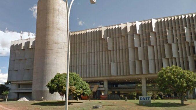 Fachada da sede do Dnit, em Brasília — Foto: Google/Reprodução