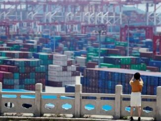 Custo para enviar mercadorias de Xangai paa Los Angeles chega a quase US$ 11 mil Foto: Aly Song/Reuters