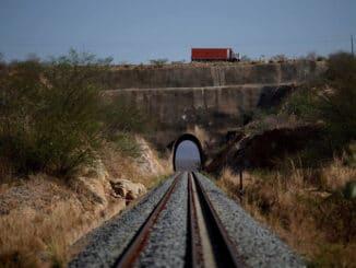 Parte da Transnordestina que passa em Brejo Santo, no Ceará Foto: Ueslei Marcelino/ Reuters - 29/10/2016