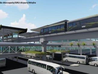 Foto: Divulgação Marcopolo / GRU-Airport/Minfra