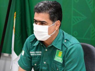 Prefeito acusa governador pela troca do nome [Foto – Davi Valle]