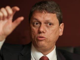 O ministro da Infraestrutura, Tarcísio de Freitas - Amanda Perobelli - 12.ago.2021/Reuters