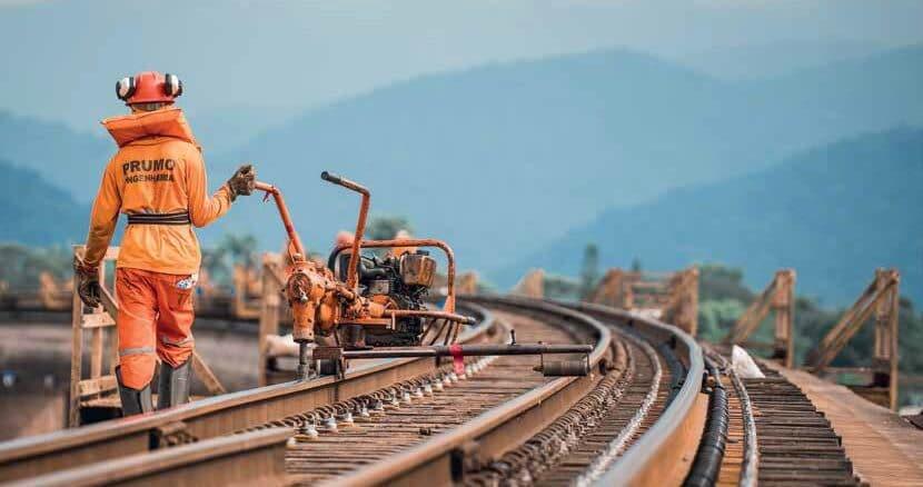 A Prumo Engenharia adquiriu equipamentos de via para dar conta da demanda - Divulgação/Prumo Engenharia