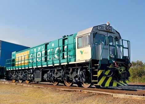 Locomotiva movida a bateria da Vale vai ser receber potência extra - Divulgação/Progress Rail